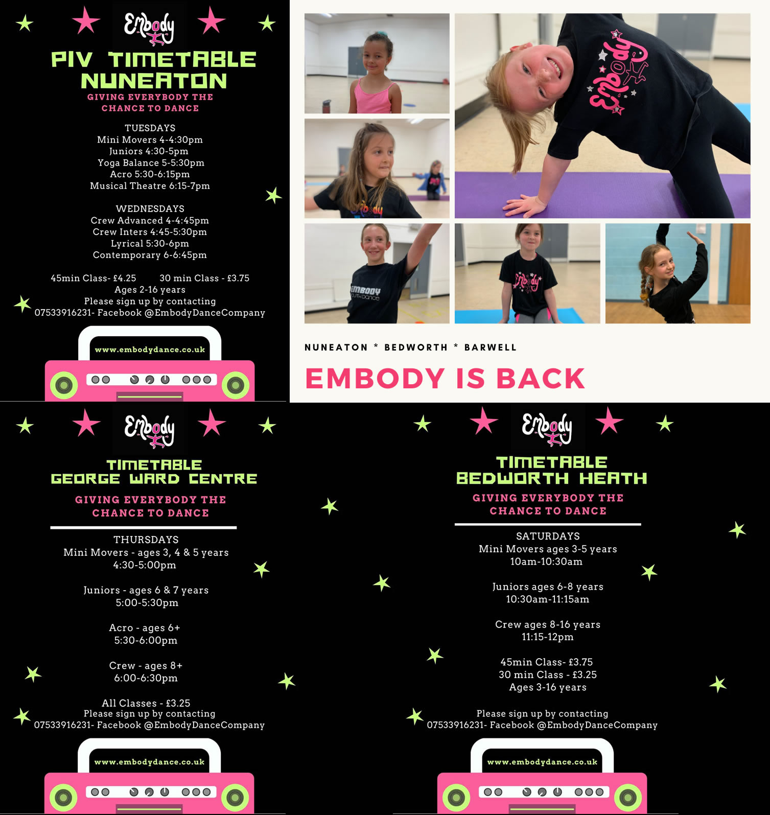 Embody Dance Company