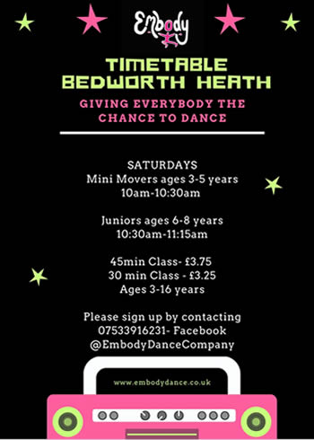 Bedworth Embody Dance School