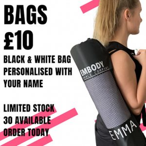 Embody Dance Personalised Yoga Mat Bag