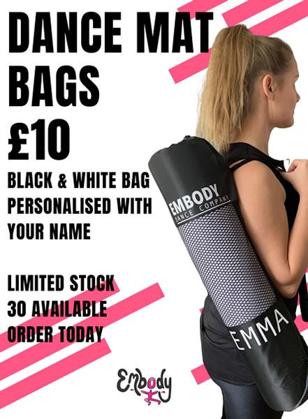 Embody Dance Personalised Yoga Mat Bag