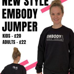 Embody Dance New Style Jumper