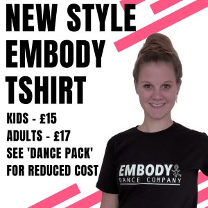 Embody Dance New Style T-shirt