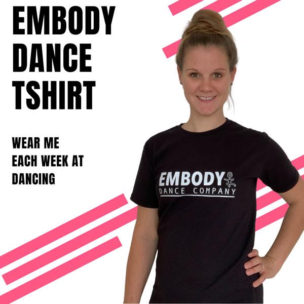 Embody Dance New Style T-shirt