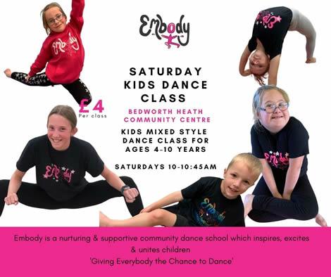 Bedworth Embody Dance School