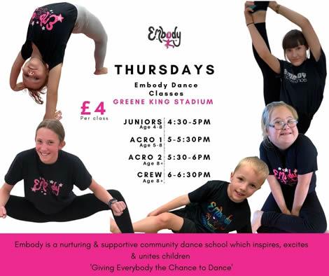 Barwell & Hinckley Embody Dance School