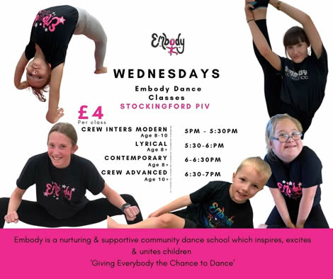 Nuneaton Embody Dance School