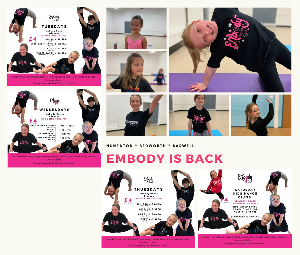 Embody – Giving everybody the chance to dance