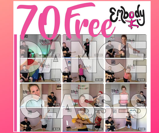 70 Days of Free Dance Classes During Lockdown