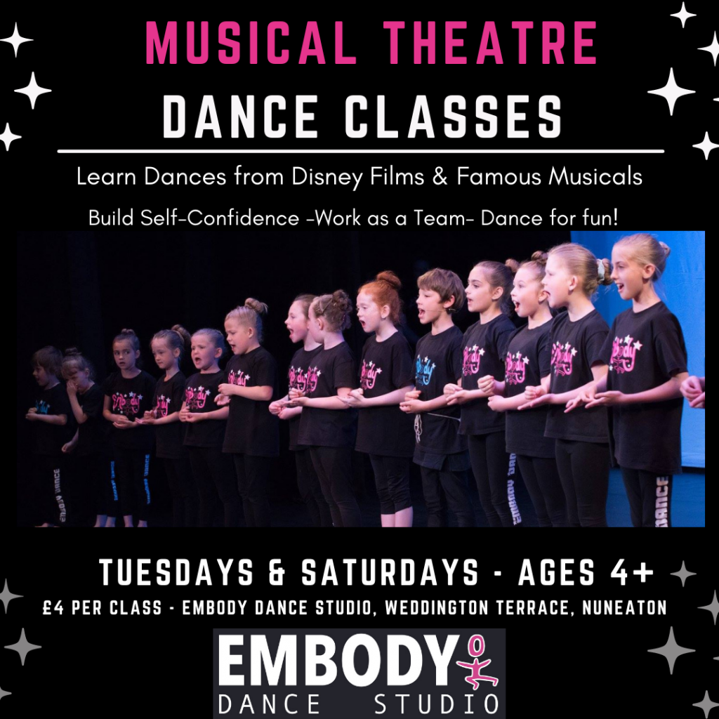 Musical Theatre Class Nuneaton